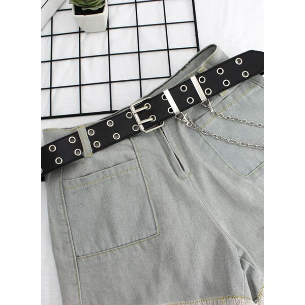 Airycloth coupon: Casual Metal Solid Belts (1795565646)