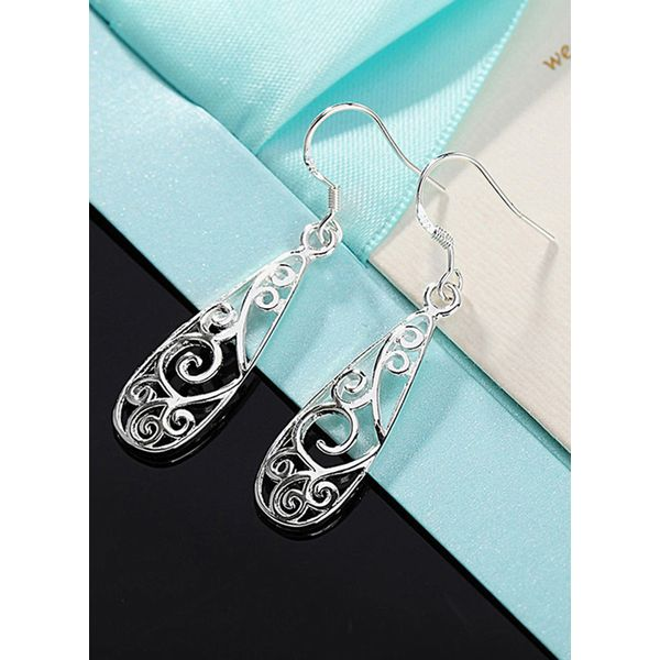 Airycloth coupon: Casual Water Drop No Stone Dangle Earrings (1855589748)