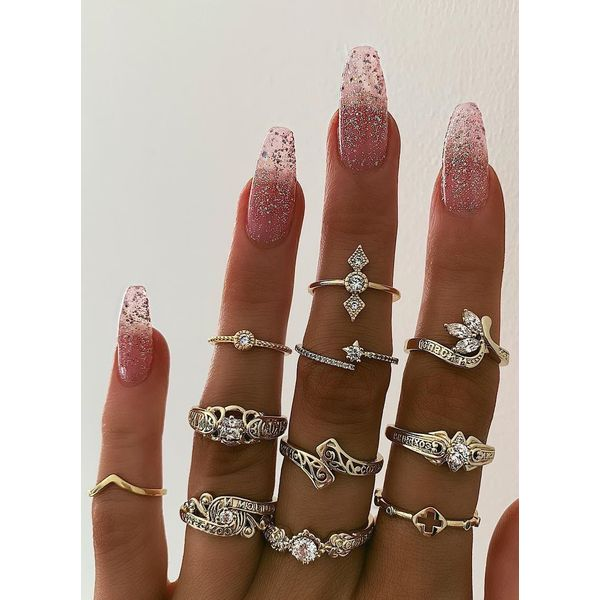 FloryDay / Floral Crystal Rings (1875582686)