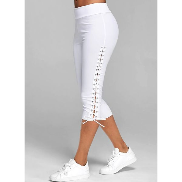Airycloth coupon: Casual Skinny Mid Waist Polyester Pants (1745607675)