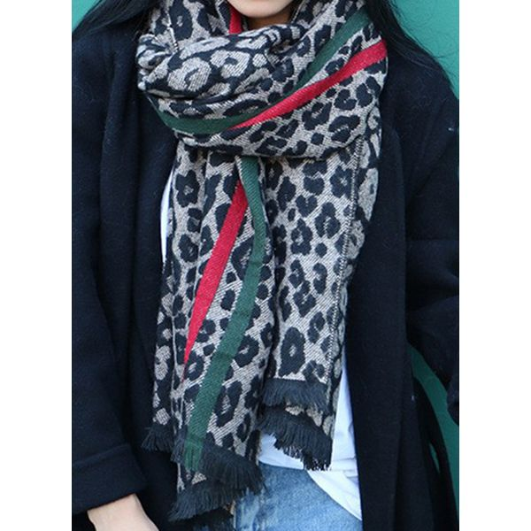 Casual Floral Scarves (1775463495, Black;yellow