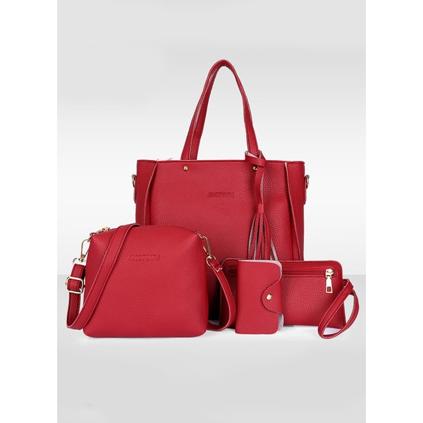 Airycloth coupon: Shoulder Tote Tassel Double Handle Bags (1825302189)