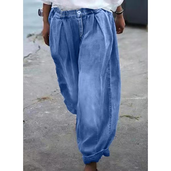 Airycloth coupon: Casual Loose Mid Waist Denim Jeans (1745607671)